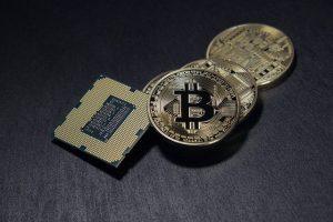 Halbierungsprozesses bei Bitcoin Circuit